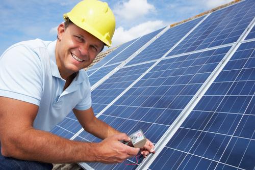 save money using solar power