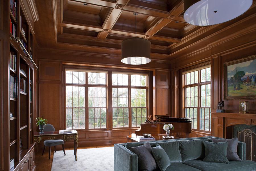 coffered ceilings, Boston, Massachusetts